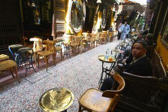 Egypt coffee shop male people 0