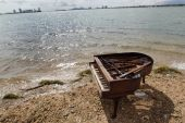 forte-piano and body of water 2013 07 29