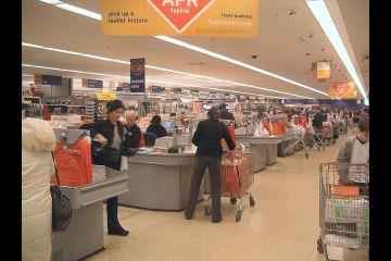 Sainsburys check-out procedure