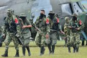 Colombia terrorist group Rebels on the loose captive