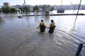 Hungary European country inundations elbe