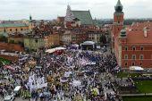 Poland opposed regime protestations september 2013